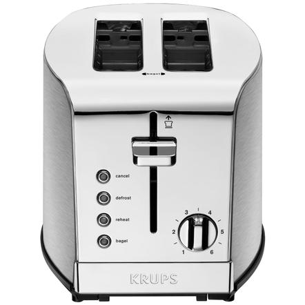 Krups Breakfast Stainless Steel 2 Slice Toaster