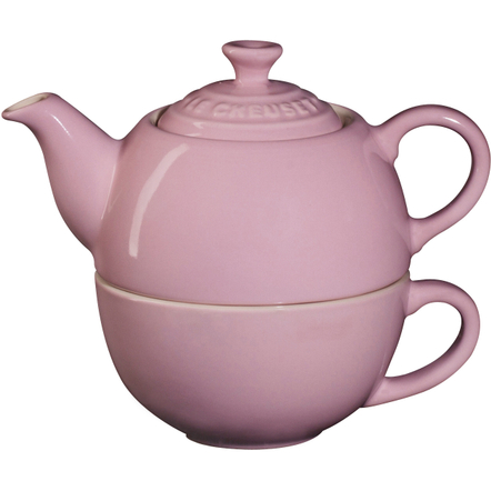 Le Creuset Pink Stoneware Tea for One