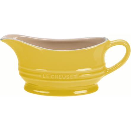 Le Creuset Soleil Yellow Stoneware 12 Ounce Gravy Boat