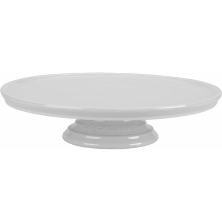 Le Creuset White Stoneware Cake Stand