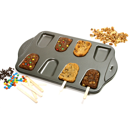 Norpro Steel Cakesicle Pan with 25 Free Sticks, 11.25 Inch x 17.25 Inch