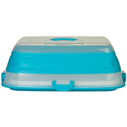 Progressive Blue Collapsible 3-in-1 Party Food Carrier