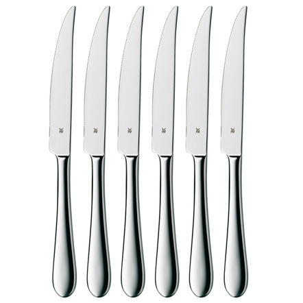 WMF Signum 18/10 Stainless Steel Steak Knife, Set of 6
