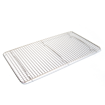 Browne Basics Double Nickel Plated Rectangular Cooling Grate, 18 x 10 Inch