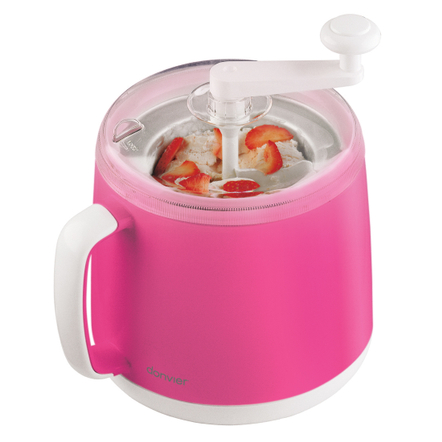 Cuisipro Donvier Pink Ice Cream Maker