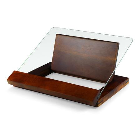 Fabio Viviani Heritage Collection Prodigio Acacia Cookbook and Tablet Recipe Stand