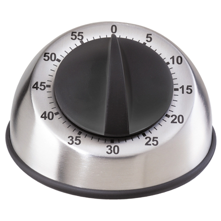 Oggi Stainless Steel Countdown 60 Minute Kitchen Timer