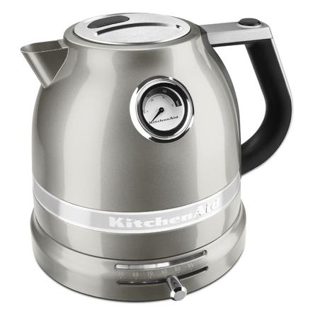 KitchenAid Pro Line Sugar Pearl Silver 1.5 Liter Electric Kettle