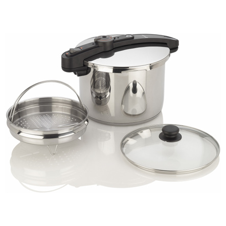 Fagor Chef Stainless Steel 6 Quart Pressure Cooker