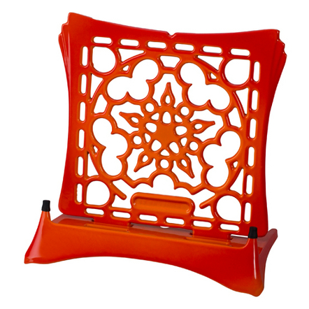 Le Creuset Flame Enameled Cast Iron Cookbook Stand