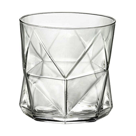 Bormioli Rocco Cassiopea 11.25 Ounce Rocks Glass, Set of 4
