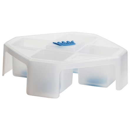 Trudeau King Cube White Ice Tray