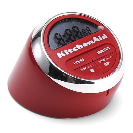 KitchenAid Cook's Series Red Digital Timer