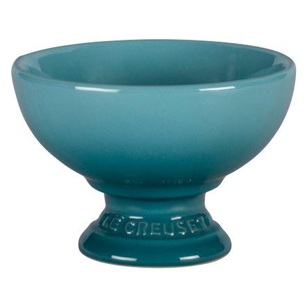 Le Creuset Caribbean Stoneware Footed Ice Cream Bowl
