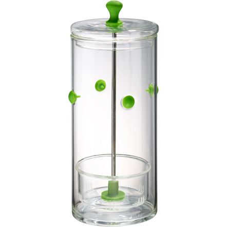 Artland Glass and Green Silicone Herb Keeper