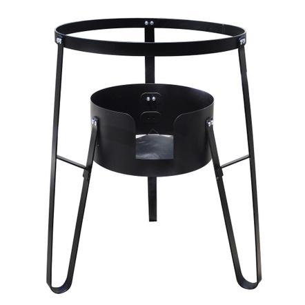 B C Classics Black 26.8 Inch High Burner Stand