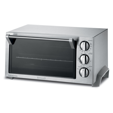 DeLonghi EO1270 Silver Stainless Steel Convection Oven