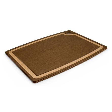 Epicurean Gourmet Series Nutmeg and Natural 17.5 x 13 Inch Cutting Board