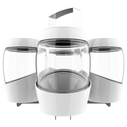 Mortier Pilon 4 Jar Canning Set with Rack