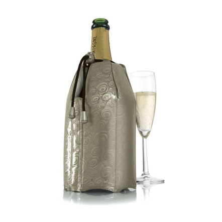 VacuVin Platinum Champagne Active Cooler