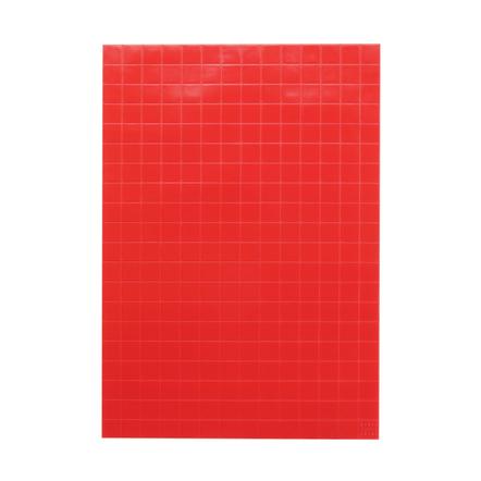 KMN Home Red DrawerDecor Customizable Drawer Organizer 14 x 20 Inch Basemat