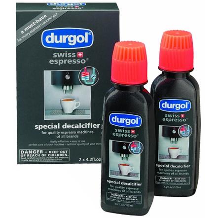 Durgol Swiss Espresso Machine Decalcifier Solution, Set of 10