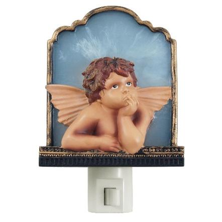 Heavenly Cherub Boy Angel Night Light