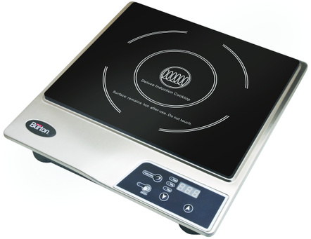 Max Burton #6200 Deluxe Stainless Steel Induction Cooktop
