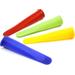 Norpro Multicolored Silicone Ice Pop Maker, Set of 4