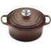Le Creuset Signature Truffle Enameled Cast Iron Round French Oven, 4.5 Quart