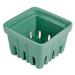 Artland Green Ceramic Berry Fruit Basket