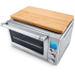 Breville BOV800XL Reinforced Stainless Steel Smart Oven with Bamboo Cutting Board