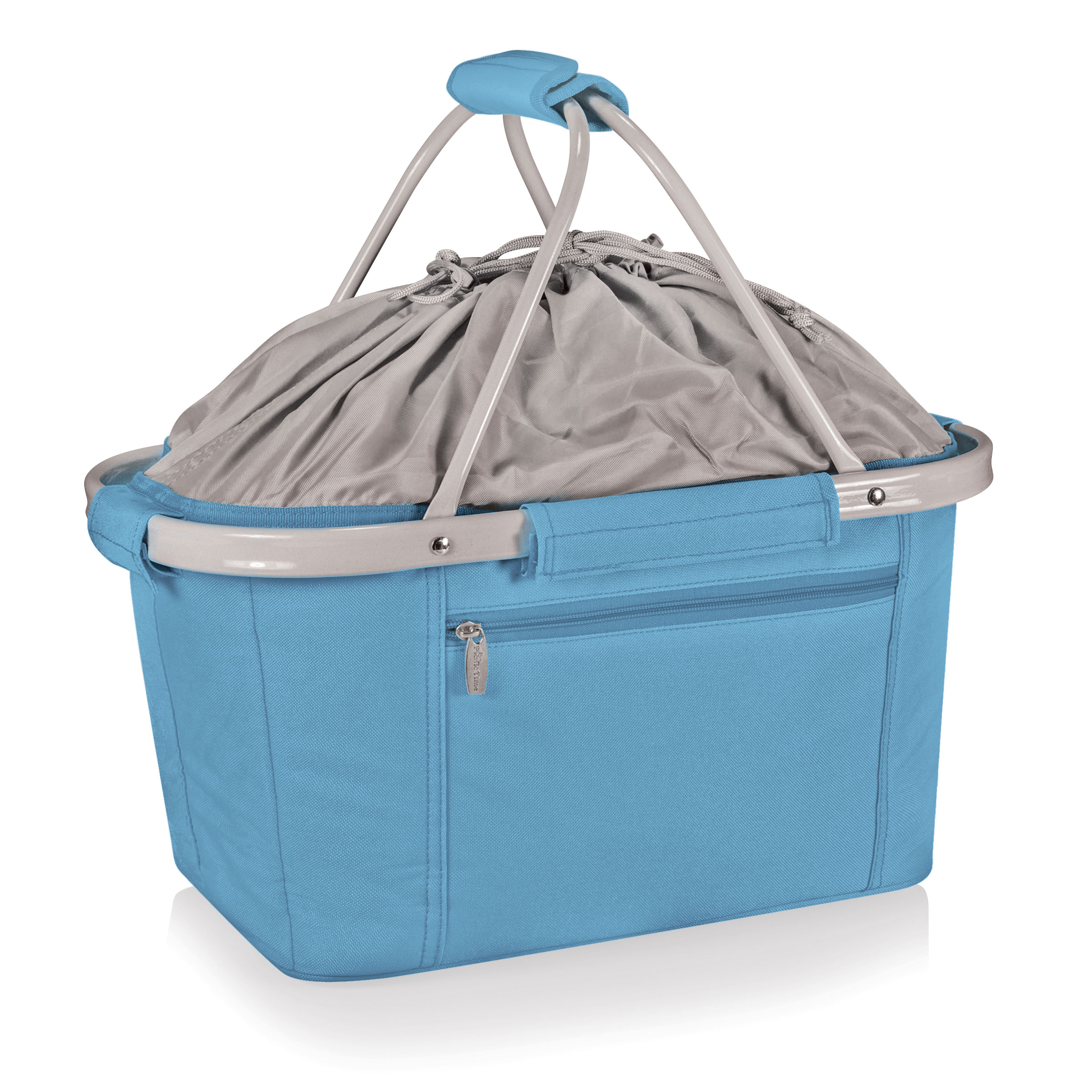 Picnic Time Metro Blue Collapsible Picnic Basket