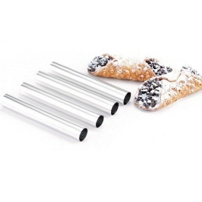 Ateco Stainless Steel Cannoli Forms, Set of 4