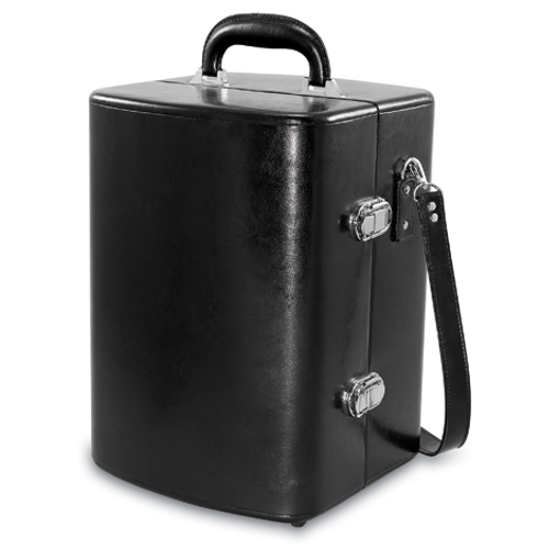 Picnic Time Manhattan Two-Bottle Cocktail Case Black