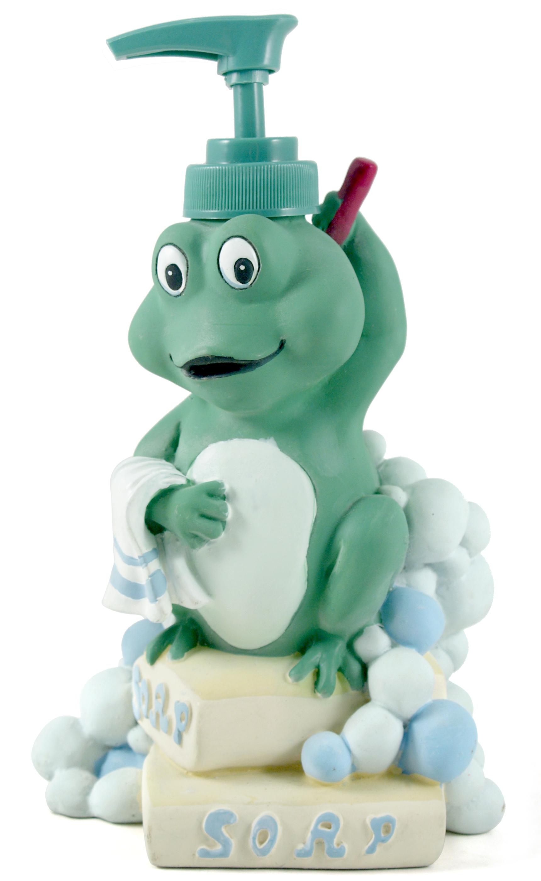 Froggy Resin Lotion and Soap Pump Dispenser