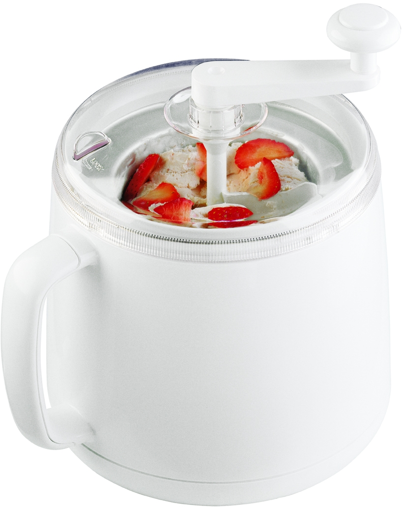 Donvier Hand Crank 1 Quart Ice Cream Maker