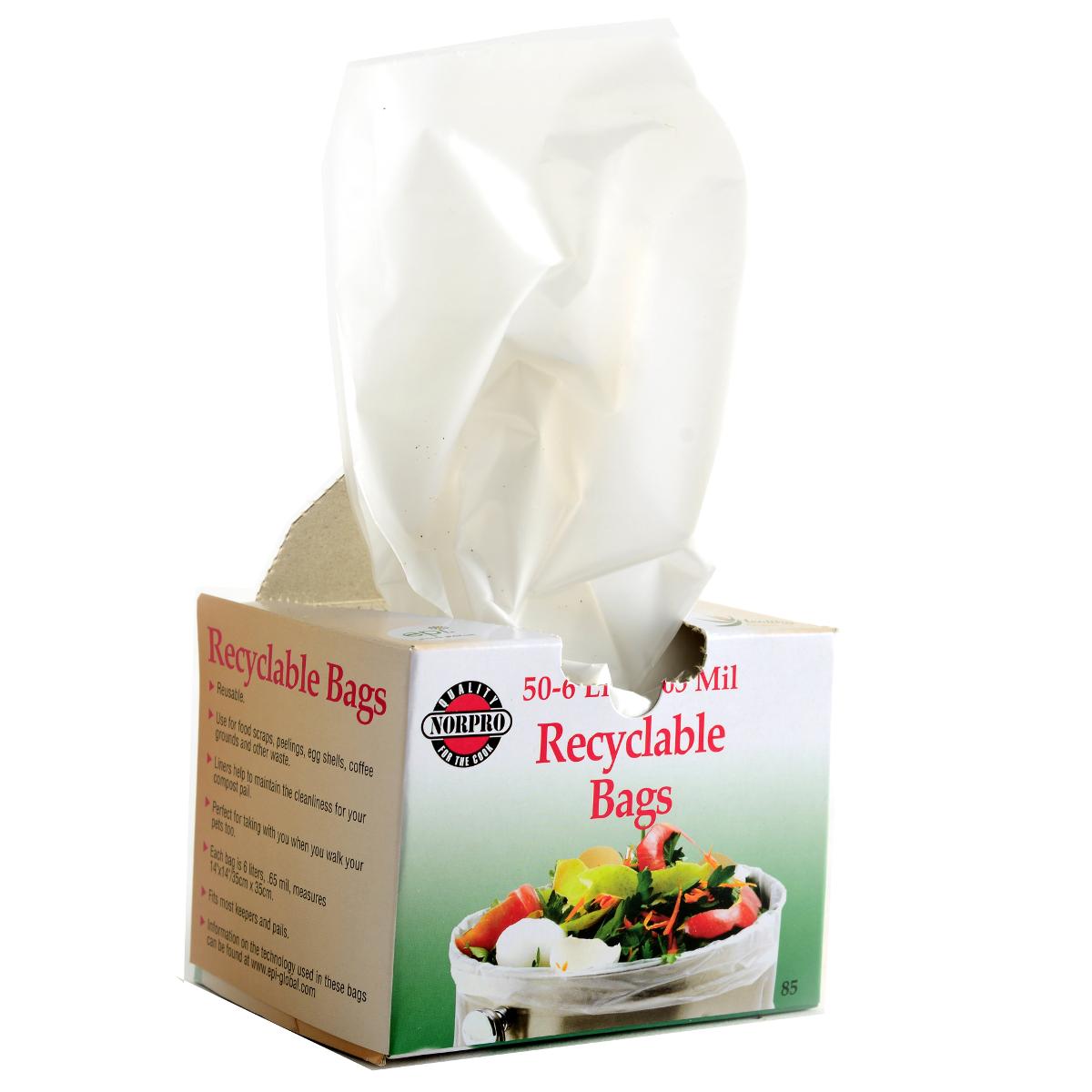 Norpro Degradable Compost Bags, Set of 50