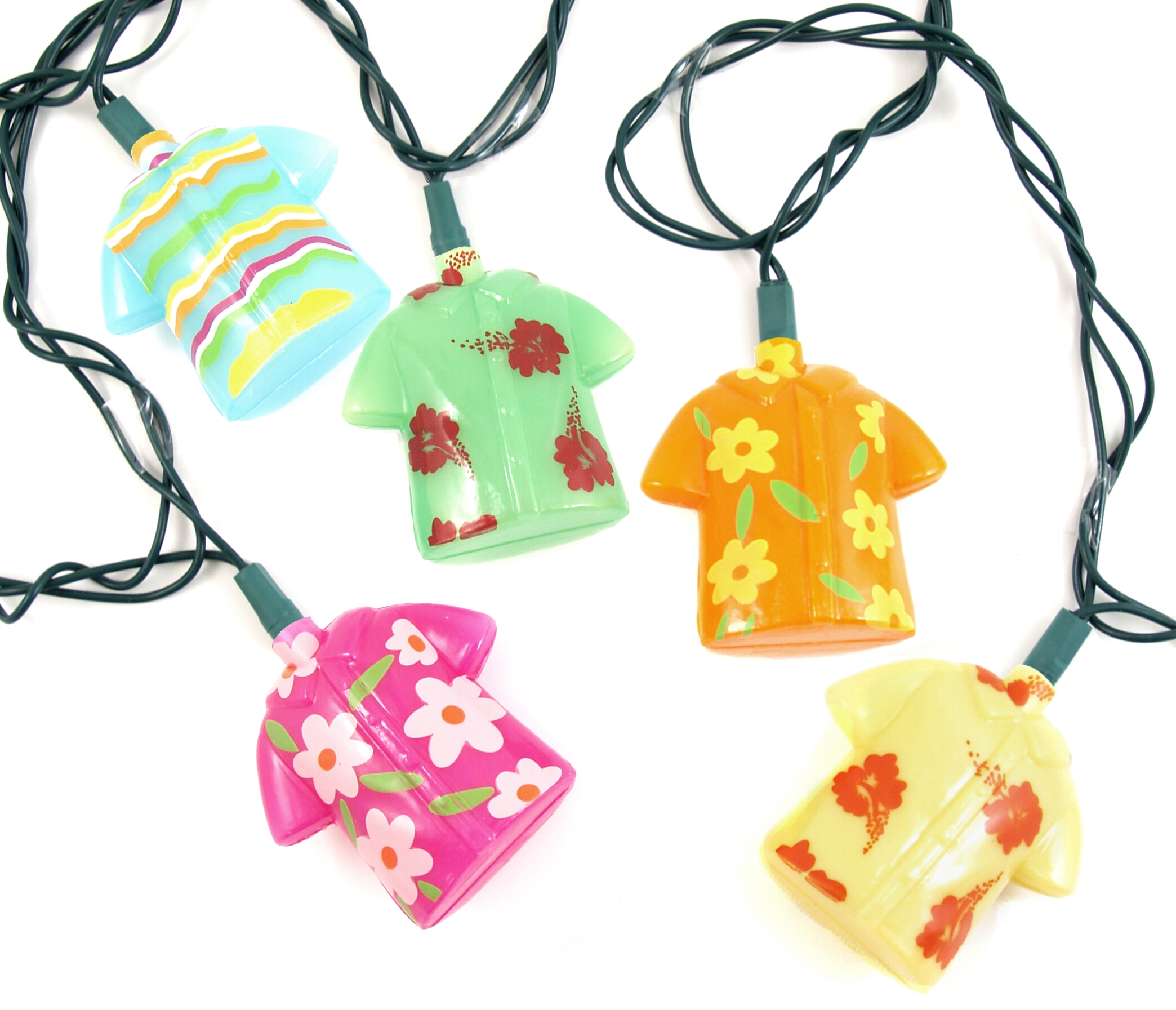 Hawaiian Shirt Party String Light Set for Indoor/Outdoor