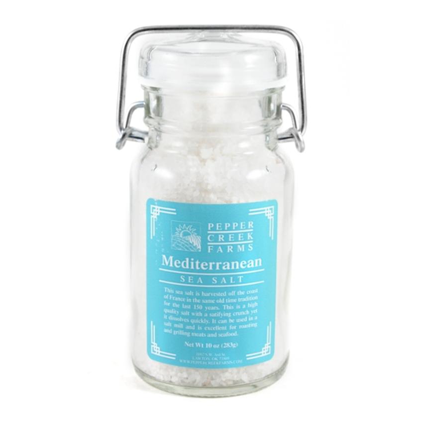 Pepper Creek Farms Mediterranean Sea Salt 10 Ounces