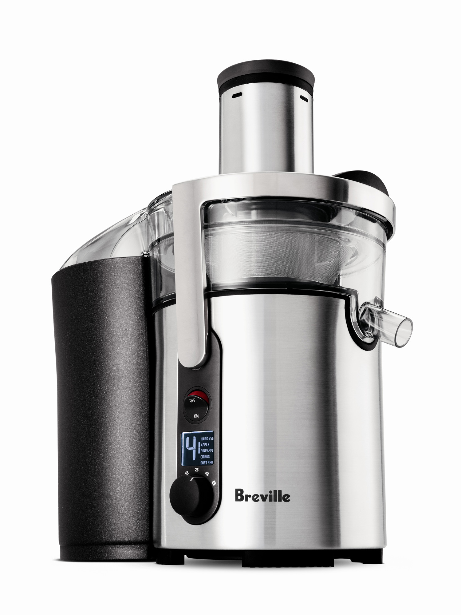 Breville ikon Stainless Steel Multi-Speed Juice Fountain