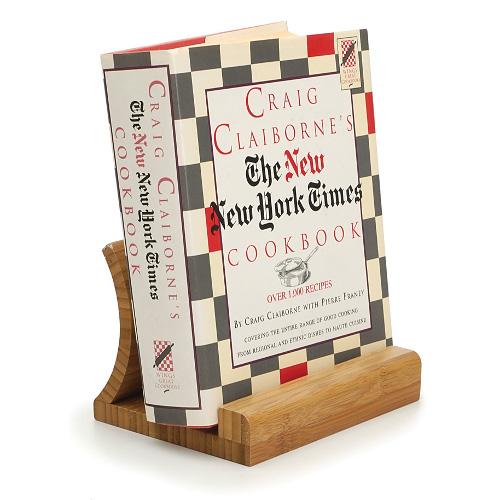 International Bamboo Cookbook Stand