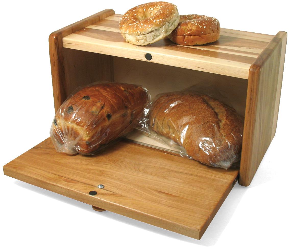 J.K. Adams Hickory Bread Box