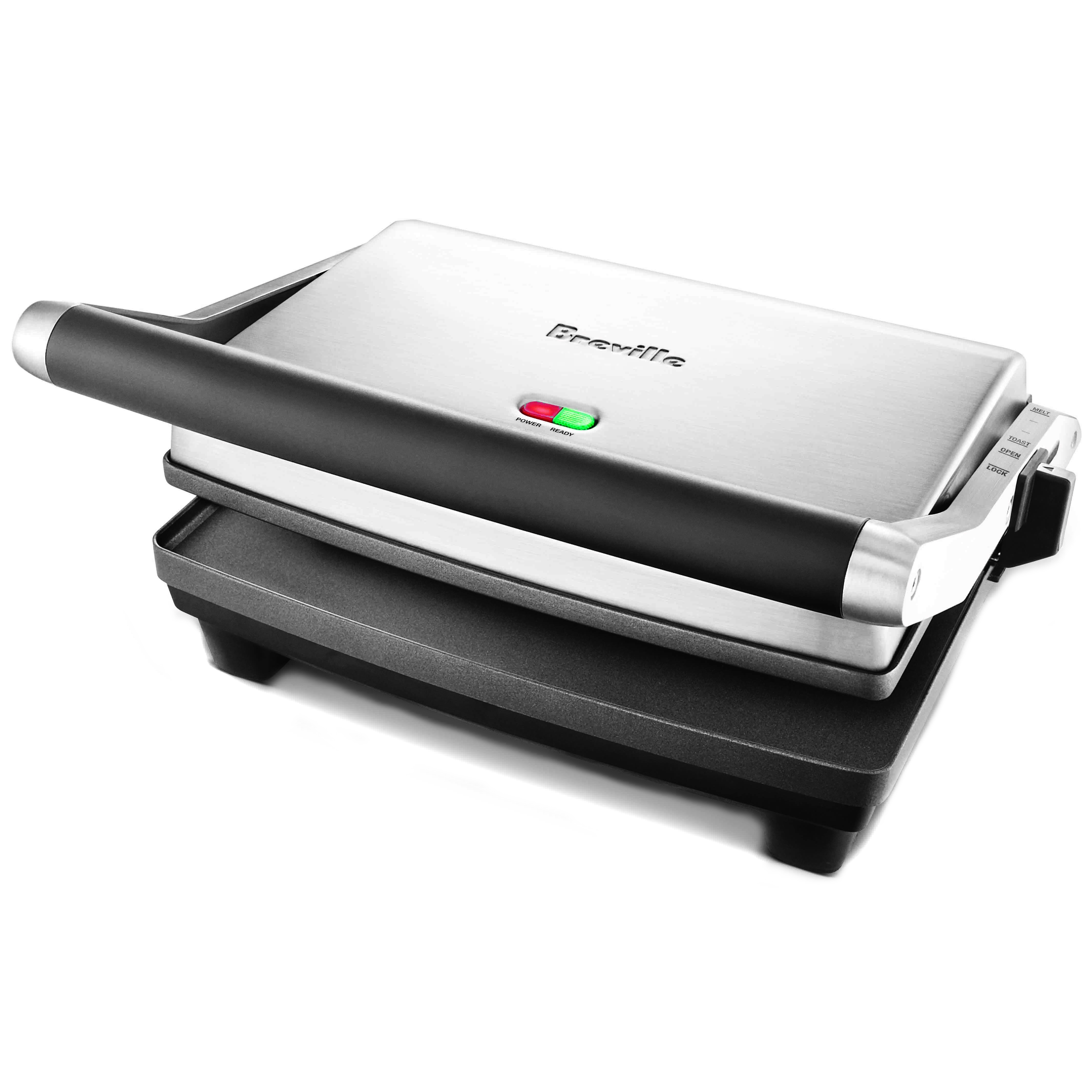 Breville Brushed Stainless Steel Two Slice Panini Press