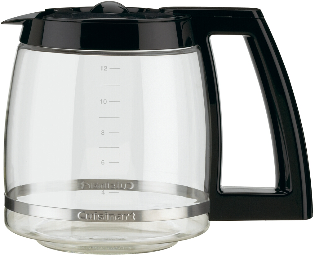 Cuisinart Black 12 Cup Glass Replacement Carafe