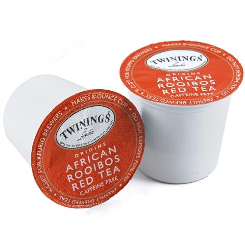 Twinings African Rooibos Herbal Tea Keurig K-Cups, 24 Count