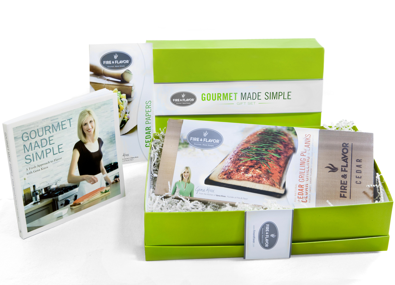 Fire & Flavor Gourmet Made Simple 7-Piece Gift Set