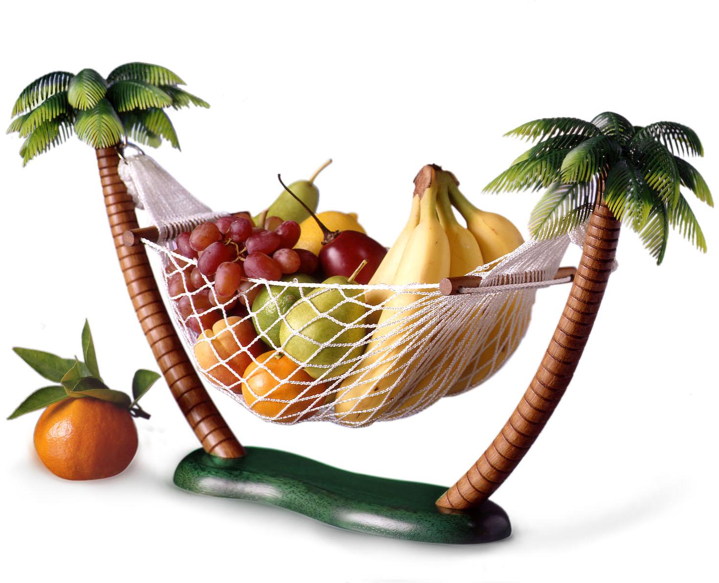 prodyne twin palms fruit and veggie hammock  rh   bigkitchen
