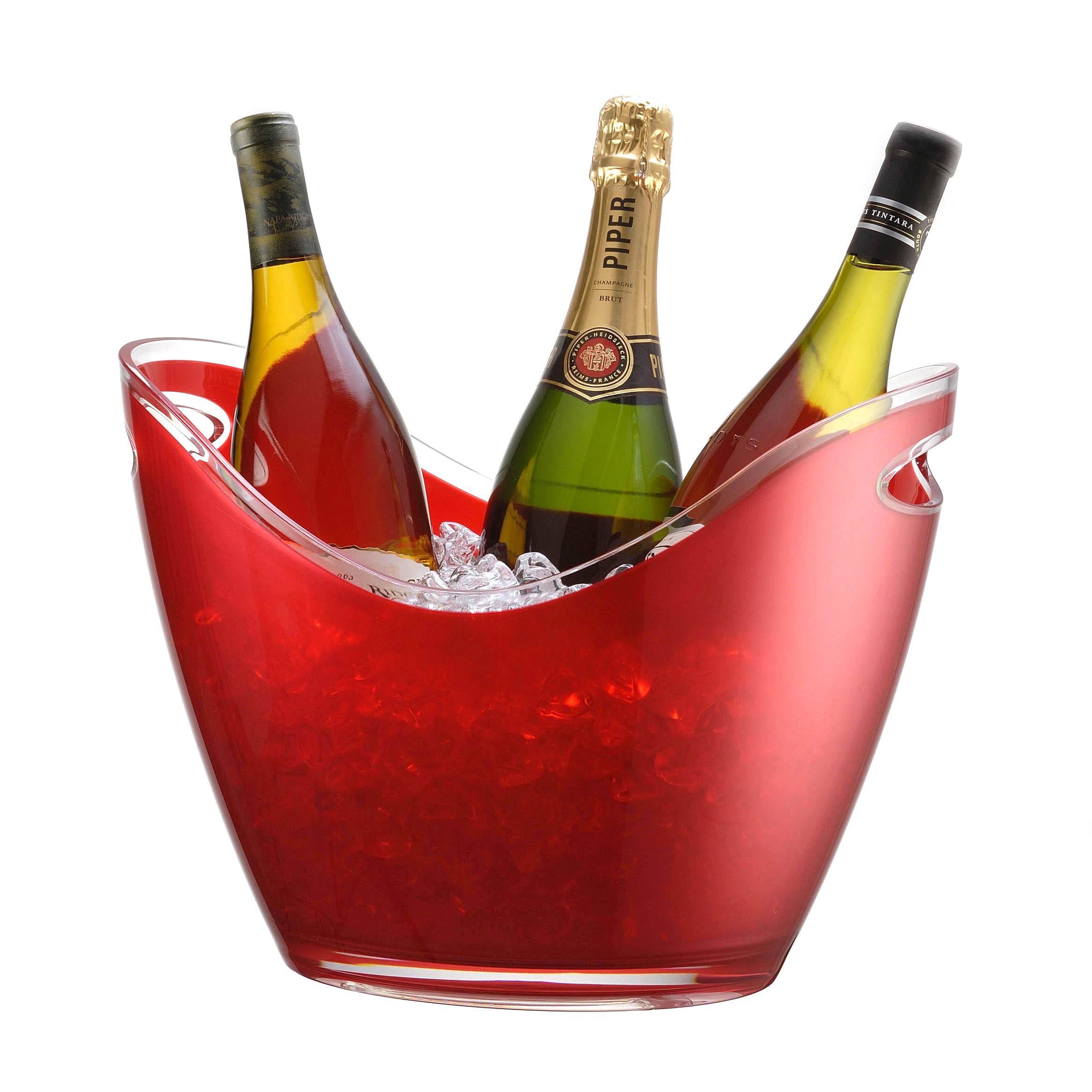 Prodyne Vino Gondola Red 4 Bottle Wine Chiller