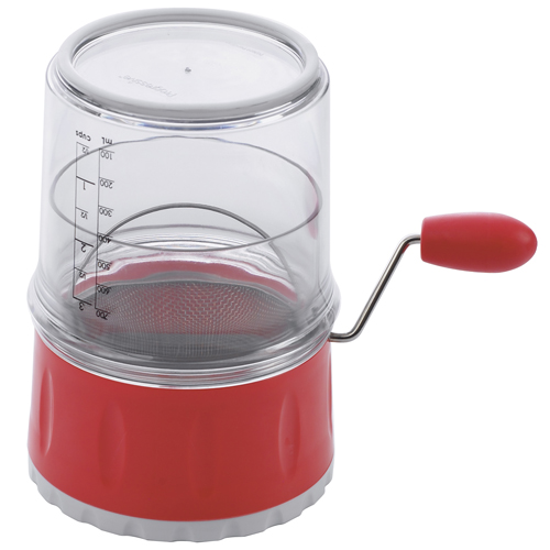 Progressive Red Measuring Flour Sifter